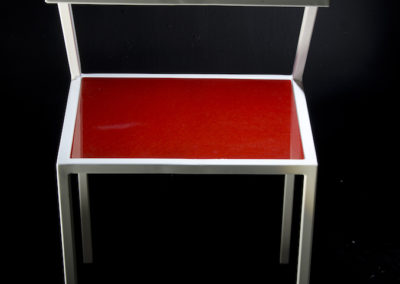 Fe.12 sedia rossa